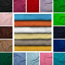 Warm Anti Pill Polar Fleece Fabric Soft Washable Material 150cm Wide, 30 Colors