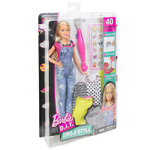 Barbie D.I Y. Emoji style fashions Doll play-set ~NEW~