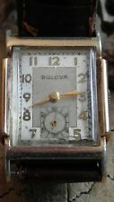 Vintage Bulova art deco dress watch..nice patina..running..
