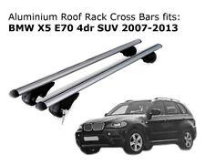 Aluminium Roof Rack Cross Bars fits BMW X5 E70 03/2007 to 10/2013