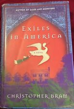 Exiles in America, Christopher Bram Hardcover FIRST EDITION Gay Interest