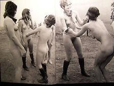Nudisten FKK Fotobuch 100 Seiten Girls International Gerd Berendt 1989 Jahr TOP