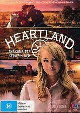 Heartland The Complete Sereis 6 to 8 DVD Six Eight NEW Region 4
