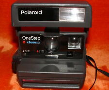Polaroid One Step Close Up 600 Instantáneo Película Cámara con Correa No Probado