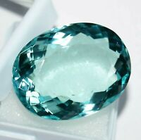 53 Ct Aquamarine Gemstone Loose Aquamarine Oval Shape Best Offer