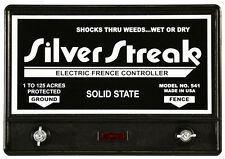 Electric Fence Charger  Silver Streak 541 Solid State  USA Made / Free Diverter