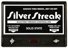 Fence Charger Silver Streak 541 Solid State Free Lightning Fuse Amp Diverter