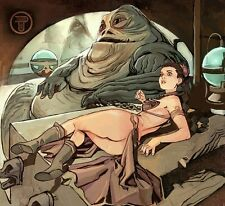 SCHIAVO Leila di Star Wars A4 PHOTO