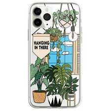 Abstract House Plants Phone Case for iphone 12 11 13 Pro Max XS XR 6 7 8 Plus