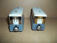 2 Thomas Wooden Train Set: Tram Toby 2 versions
