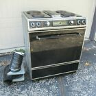 Vintage JENN-AIR Downdraft Grill Oven 1987 Electric Range works parts S100 S101 photo