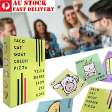 Taco Cat Goat Cheese Pizza English Game Card Party Card Family Games Bar Play