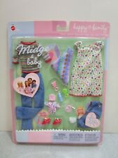2003 Barbie Midge & Baby Fashion Happy Family Mattel 47629-0511