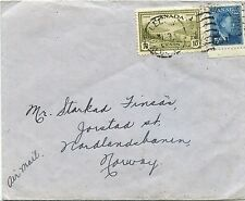 15c airmail George VI Peace issue to ** NORWAY ** cover Canada