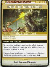 Pathfinder Adventure Card Game - 1x Into the Runeforge - Sins of the Saviors