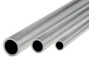 L/änge 400mm 40cm auf Zuschnitt Aluminium Rundrohr AlMgSi05 /Ø 40x2mm