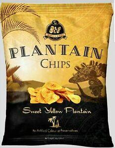 Olu Olu Sweet Plantain Chips 60g. x 24 packets