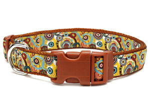 Douglas Paquette KIRKOS Nylon & Ribbon Adjustable Dog Collars