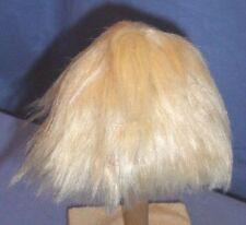"""Mohairperücke blond Kurzhaar 30/32/ doll wig mohair pale blond 12/12.5"""" short"""