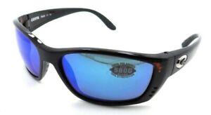 Costa Del Mar Sunglasses Fisch 64-17-140 Tortoise / Blue Mirror 580G Glass