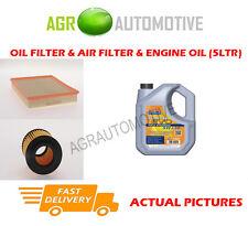 Diesel Öl Luft Filter Kit + LL 5W30 Motoröl für VAUXHALL SIGNUM 1.9 150 BHP 2004-08