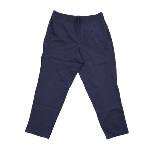 JOAN RIVERS Signature Sz PM Navy Stretch Waist Ankle Pull-on Pant New $54 value