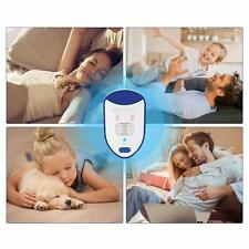 6 Ultrasonic Pest Repellant Plug Device Electronic Portable Night Light Safe