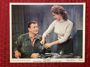 Jet Pilot Lobby Card Photo Movie Still 8x10 Photo 1957 John Wayne Janet Leigh