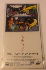 "SNAP Japan 1991 Tall 3"" CD Single MARY HAD A LITTLE BOY- Japanese NEW & SEALED"