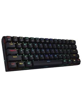 Redragon K530 Draconic 60% Compact RGB Wireless 61 Keys TKL Mechanical Keyboard