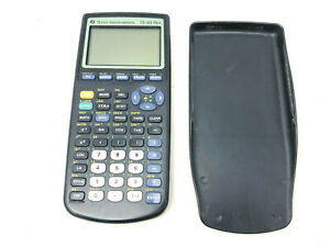Texas Instruments TI-83+ Plus Scientific Math Graphing Calculator w/Cover TESTED
