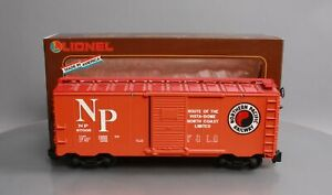 Lionel 8-87005 Northern Pacific Boxcar w/Plastic Wheels LN/Box