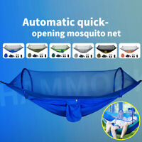 2Person Camping Hammock Mosquito Net Swing Tent Hanging Sleeping Bed  #U