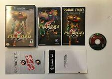 Metroid Prime (Nintendo GameCube, 2004) Black Border - CIB COMPLETE - US SELLER