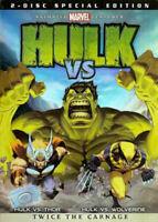 HULK VS WOLVERINE/ HULK VS THOR (DVD 2 Disc Special Edition) NEW & SEALED
