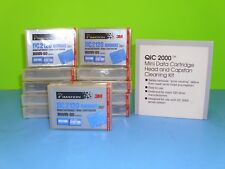 New Lot of 11 3M Imation DC2120 QIC80 Format Tape Data Cart 120/240MB w/Cleaner