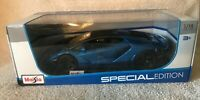 Lamborghini Centenario Metallic Blue with Black Top 1/18 Special Edition NIB