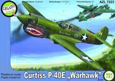 """Curtiss P-40E Warhawk """"Aces"""", plastic model kit 1/72 AZ Model Legato AZL 7223"""