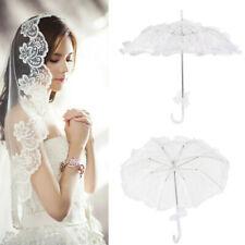 2c1ce2797 Lace Parasol Umbrella Vintage Embroidered Sun Umbrella Bridal Wedding Party  Gift