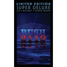 RUSH - 2112 (LIMITED EDITION-SUPER DELUXE)  CD+BLU-RAY+COMIC BOOK  NEU