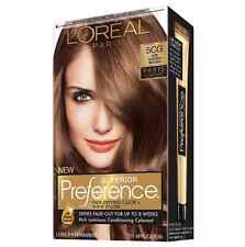 LOreal Paris Preference Permanent Color, 5CG Iced Golden Brown 1 ea