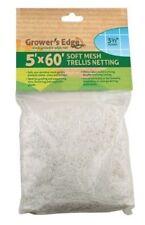 Growers Edge Soft Mesh Trellis Netting 5x60 3.5 Squares