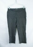 Women's Michael Kors Size 8 Black And White Polka Dot Pants