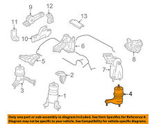 TOYOTA OEM-Engine Motor Mount Torque Strut 1237231050