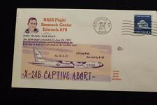 SPACE COVER 1975 MACHINE CANCEL ABORTED X-24B FLIGHT HIGH GROUND WINDS (1084)