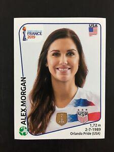 Alex Morgan Sticker Panini Women's World Cup France 2019 #418 / USA.
