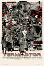 Tyler Stout Terminator Variant Edition Signed Movie Art Print Poster