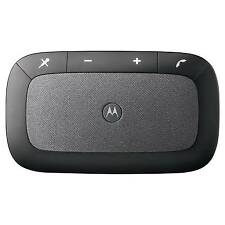 Motorola 89589N Sonic Rider Bluetooth Car Kit Black Silver