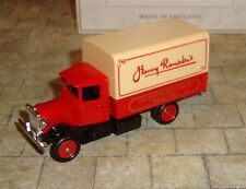 LLEDO - PROMO - 1934 MACK CANVAS BACK TRUCK - HARRY RAMSDEN'S FISH & CHIPS -