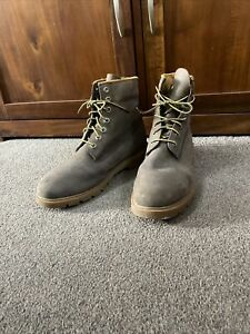 Timberland Trekking Shoes/boots Men's Brown Nubuck 6400R